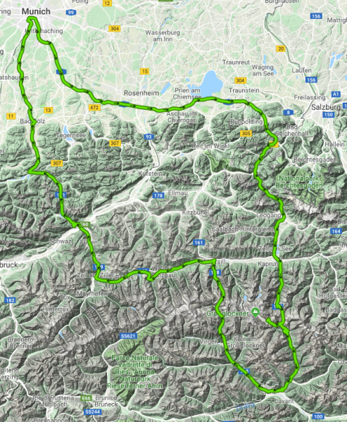 Großglockner - September / 18 / 2018 - 550 km - 10 Std. 20 min