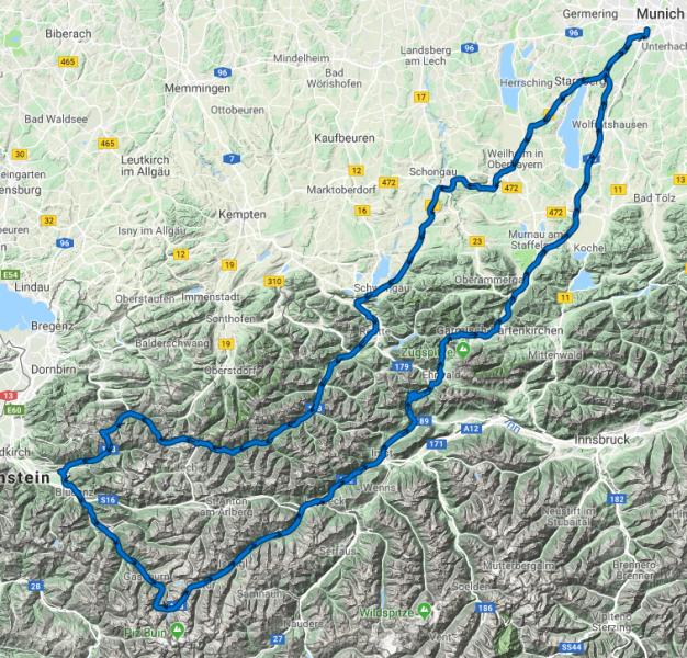 Silvretta  - Juli / 25 / 2018 - 600 km - 10 Std