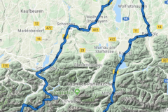 Hahntennjoch und Kühtai  - Oktober / 17 / 2018 - 380 km - 7,5 Std.